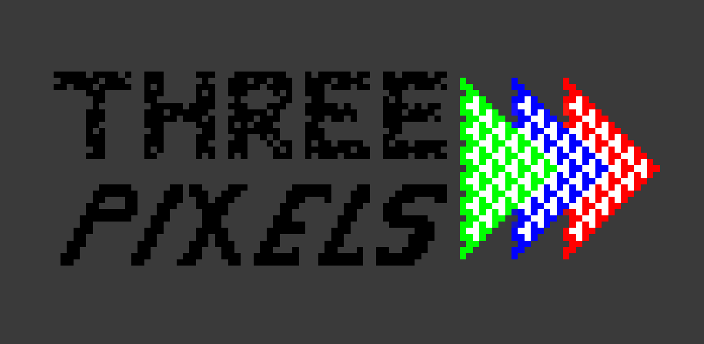 three pixels image